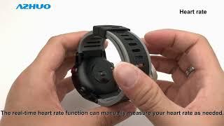 DM18 Smart Watch GPS IP68 Multi Sport Heart Rate Monitor Sports Smartwatch