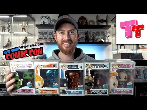 All of the Toy Tokyo NYCC 2018 Funko Pop Exclusives