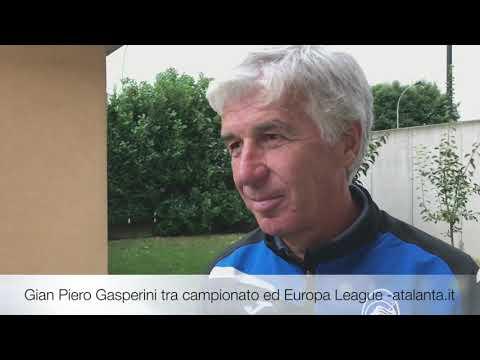 Gian Piero Gasperini tra campionato ed Europa League