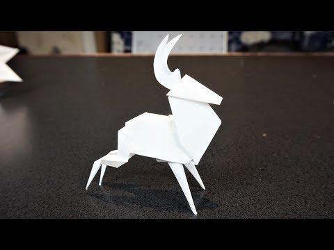ORIGAMI - Reindeer