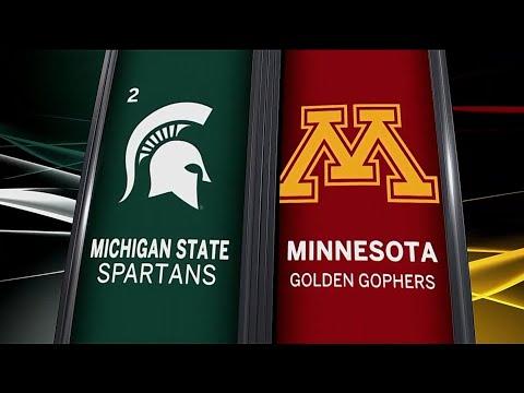 Michigan State at Minnesota - Men's Basketball Highlights