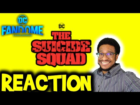 THE SUICIDE SQUAD (2021) – DC FanDome Exclusive Sneak Peek Reaction & Review
