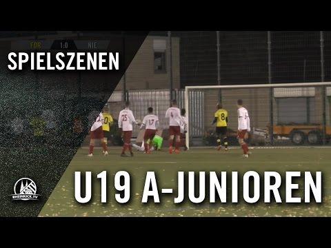 SC Fortuna Köln - 1. FC Niederkassel (U19 A-Junioren, Mittelrheinliga) - Spielszenen | RHEINKICK.TV