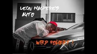 Leon Machere wird geprankt !!! Wir folieren Leon Macheres Auto !!