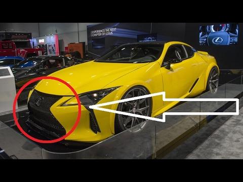 Cool Customized Lexus Lc 500 Youtube