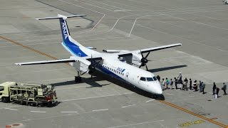 エンジン始動から離陸の様子。 ANA333便熊本行きです。故郷へ帰る人たち...