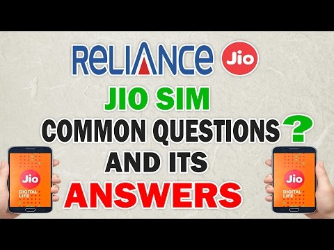Reliance Free JIO SIM FAQ, Doubts, 2GB To Unlimited, Multiple Code Generating, All Queries Answered