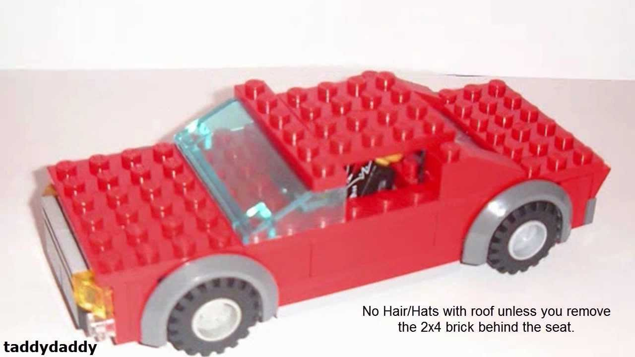 How To Make A Lego Car Youtube