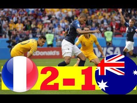 FRANCE VS AUSTRALIA 2-1 All GOALS & HIGHLIGHT WORLD CUP  HD 🔥🔥🔥