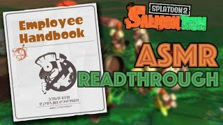 Grizzco Employee Handbook ASMR READTHROUGH