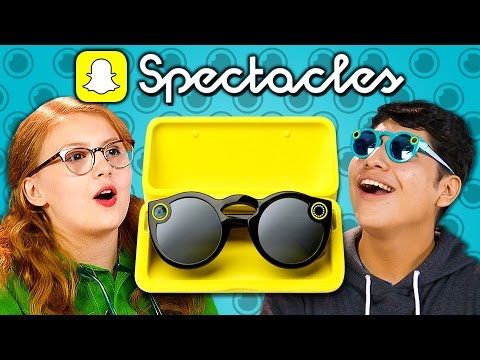 Thumbnail: TEENS REACT TO SNAPCHAT SPECTACLES