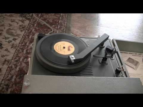 Wild Bill Hickok 1 - 78 RPM Record - Peter Pan Records