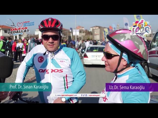 Sağlık İçin Pedalla  Sema   Sinan Karaoğlu Röpörtajı