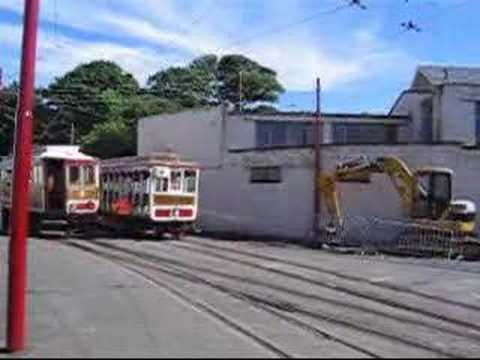 Manx Electric Railway - gravity shunting