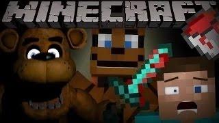 Если пять ночей в Фредди познакомился-Minecraft машинима[MrLololoshka,BenderChat,YFrostA,ЛОЛОЛОШКА]