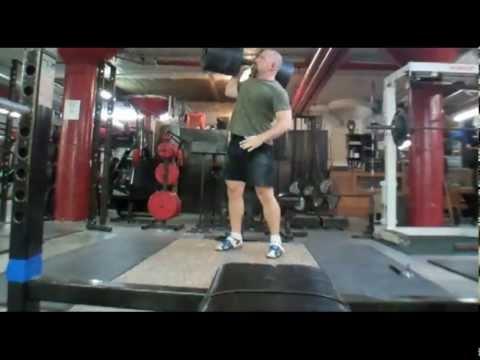 Collin Cousineau - Illinois Strongest Man - 2012 Training