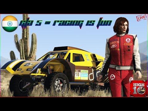 GTA 5 - LIVE - CUSTOM RACE PLAYLISTS & MORE!!!