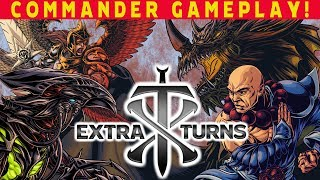 Extra Turns #03 w/ Mark Rosewater & Evan from Make-A-Wish l Magic The Gathering Commander EDH