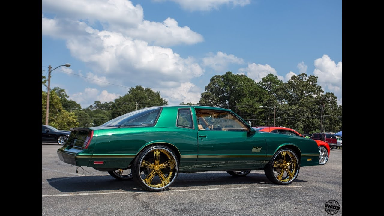 King Of Da Streets Carshow : Chop's Green Monte Carlo