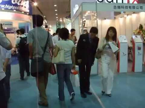 9 min of Pure Computex Taipei Trade Show Floor Experience!