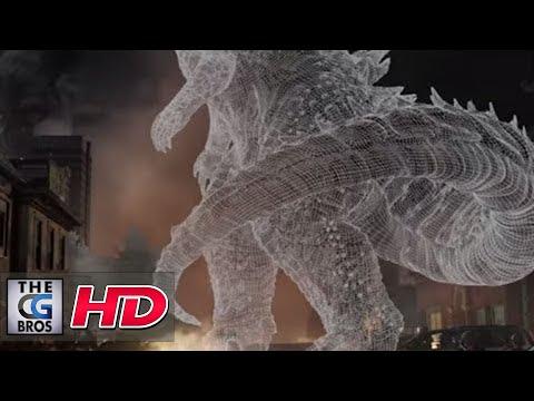 """CGI VFX Breakdowns HD: """"Godzilla- Sneak Peak"""" - by MPC"""