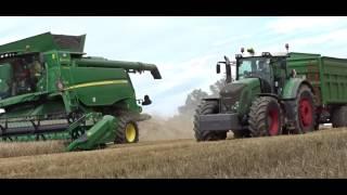 Żniwa 2017 |John Deere|Fendt| #Wtopa AGROPomorzeTEAM