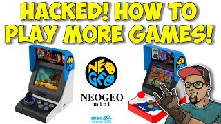 Neo Geo Mini Hacked! Play More Games & Systems! How To Guide!