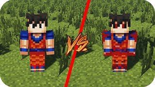 Casa Goku VS Casa Goku.EXE Dragon Ball - Minecraft