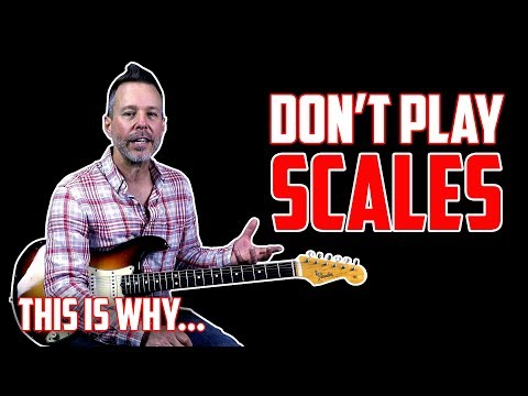 Playing Blues Guitar? Don't Play Scales