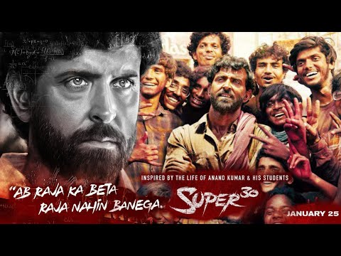 Super30 Official First Look Teaser Trailer is Out Soon Staring Hrithik Roshan