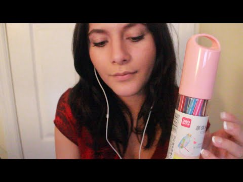 ASMR Ear-to-Ear Whispering & Tapping