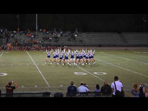 Thomas Downey High School Cheer 8/31/18