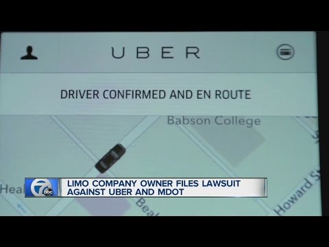 Limo company owner sues Uber