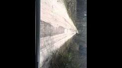 Jeep ride on Old brick road. Florida...