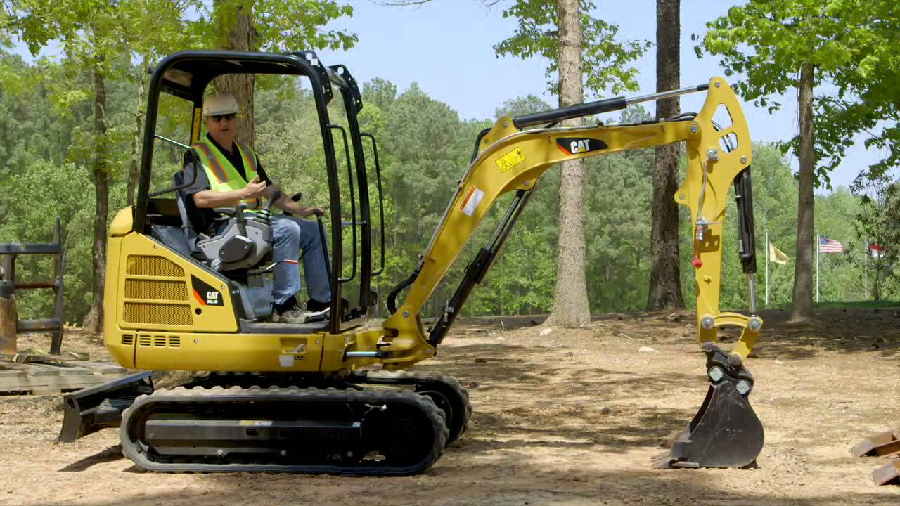 Mini-Excavator Blade Positioning Tips - Plantman Equipment