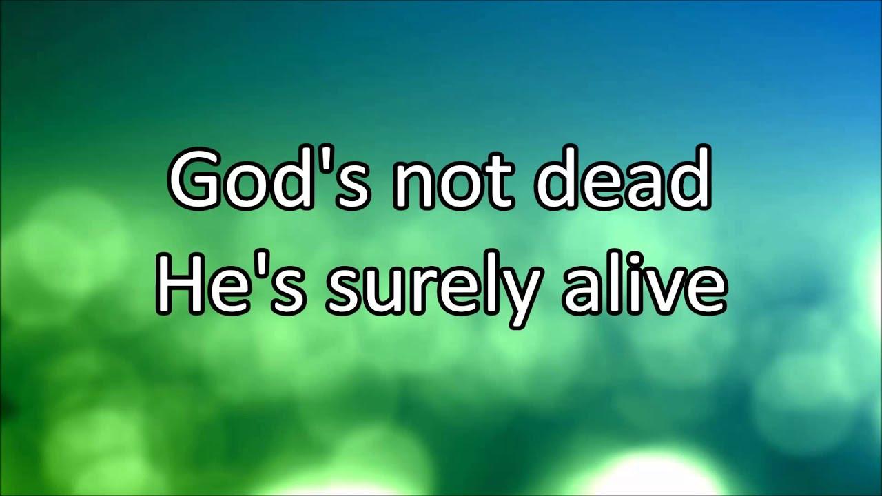 God's Not Dead (Like a Lion) Lyrics - Genius   Song Lyrics ...