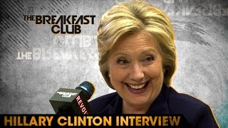 Hillary Clinton Interview at The Breakfast Club Power 105.1 (04/18/2016)