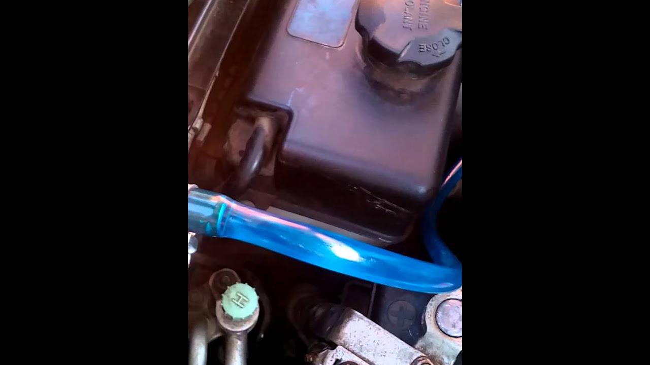 hyundai h1 подсос воздуха из бака