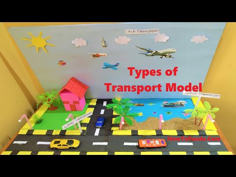types of transport model for school science project | science fair | howtofunda