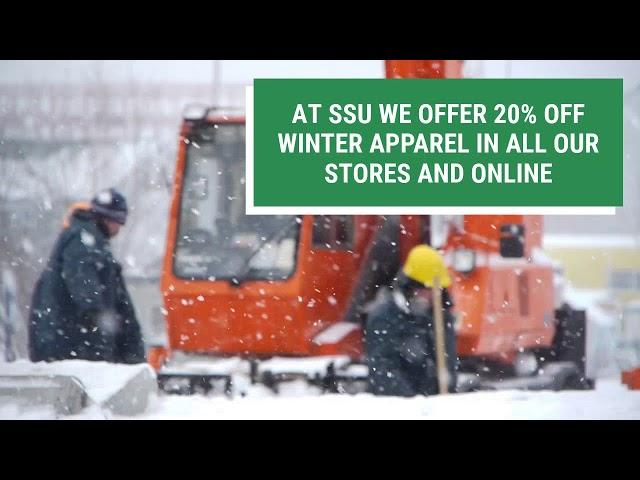 SSU Has The Best Winter Apparel