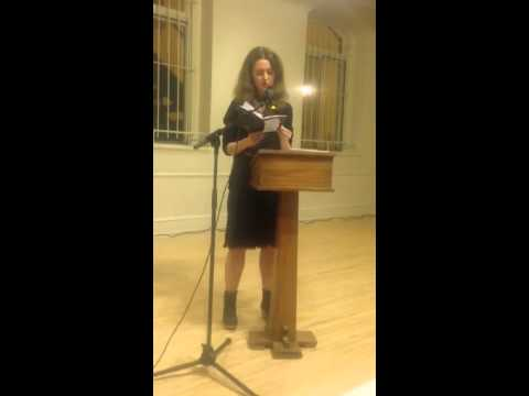 Leopoldine Core at The Poetry Project, 11/8/13