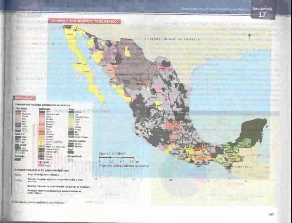 Libro Geografía de México y del mundo 1 Educación Secundaria Primer Grado  Sept 2013