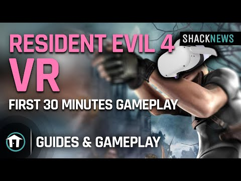 Resident Evil 4 VR - First 30 Minutes of Gameplay
