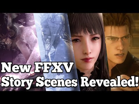 Final Fantasy XV TGS trailer teases HUGE content: Episode Ignis, Summons & Luna story *spoilers*