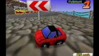 Tero beats N64 Penny Racers Part 1