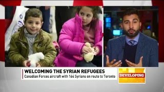 CBC News: Syrian Refugees Resettlement and Integration by Ahmadiyya Muslim Community Canada