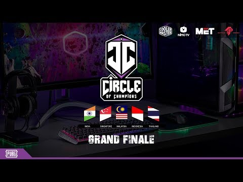 Circle of Champions Grand Finals 2018   PUBG Finals from Battle Arena Malaysia ♦ PUBG INDIA LIVE