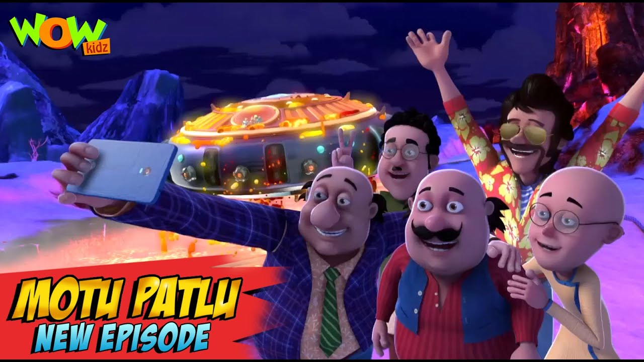 Download Motu Patlu New Episodes 2021 | The Lake Of Fire | Funny Stories | Wow Kidz