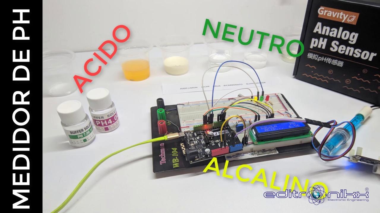 Gravity: Analog pH Sensor/Meter Kit V2 – DFRobot