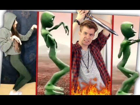 Scheiß Alien Dance Challenge! - Dame Tu Cosita